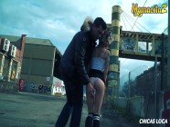 MamacitaZ - Kinky Tinder Dates Decide To Have a Quickie Outside