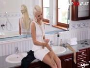 PinUpSex - Lena Love And Eveline Neill Classy Czech Lesbians Intense Bathroom Sex - VIPSEXVAULT