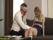 tight daughter ass destroyed by stepdad