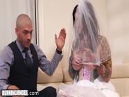 BurningAngel Cheating Bride Gets Destroyed Hard By The Best Man During Her Wedding