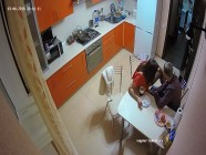 The Hottest Amateur Couple Has Quick Hard Action after dinner in the kitchen