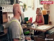 Horny Hostel - Stella Flex Petite Russian Gamer Girl Seduces Horny Nerd In Hotel