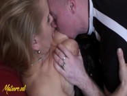 Cheating MILF Gets Anal Creampied While Husband Is At Work