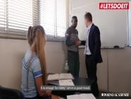 PornoAcademie - Diana Dali Big Ass Russian School Girl Hardcore Interracial Threesome - LETSDOEIT