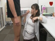 Office secretary is having sexy with her boss
