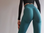 Perfect Ass Fitness Model Legging Try-On Haul - DLE