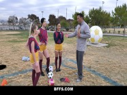 Soccer Cuties Suck Off Older Coach