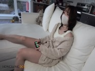 Chinese pretty escort got fucked by her client when he asked her to play Nintendo switch
