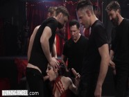 Joanna Angel Is Roughly Welcomed In The VIP Gangbang Club
