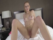 College Girl Ginger Gets Fucked Hard and Receives Huge Load On Her Face