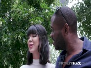 Private Black - Horny Diva Lady Dee DPd By 2 Big Black Cocks