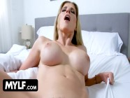Smoking Hot Blonde Bombshell With Huge Boobs Cory Chase Gets Her Juicy Milf Pussy Pounded